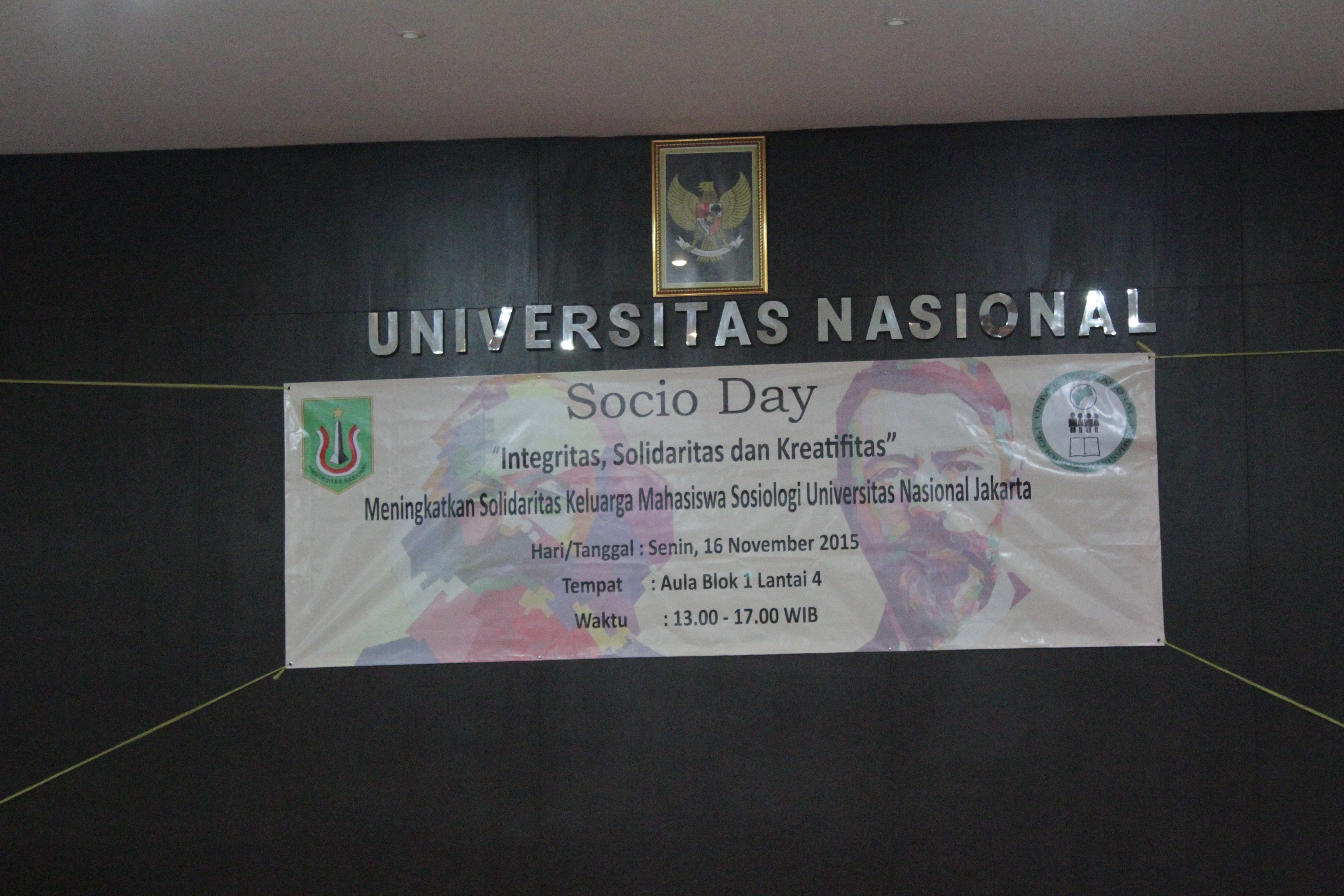 Kegiatan Socio Day Himpunan Mahasiswa Sosiologi
