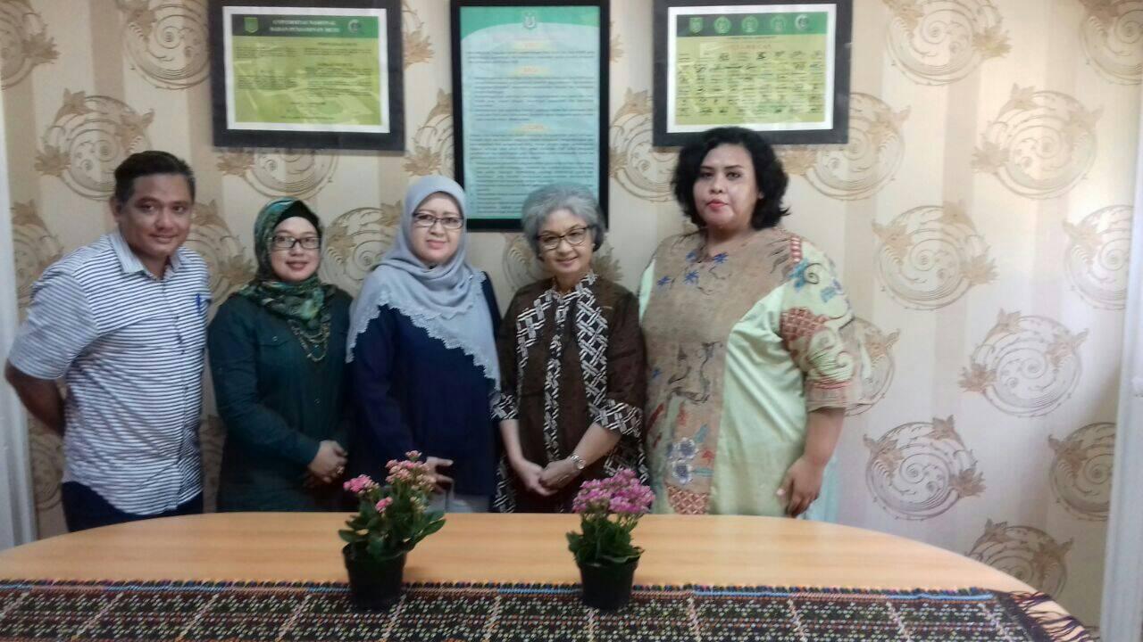 FISIP UNAS Kerjasama Penelitian dan PKM dengan Yayasan Dharmaranya Tuju Enam