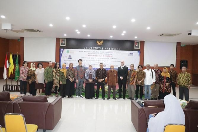Seminar Internasional PKSP FISIP Bahas Pemilu 2019 Dan Dampaknya Pada Demokratisasi Dan Pembangunan Indonesia