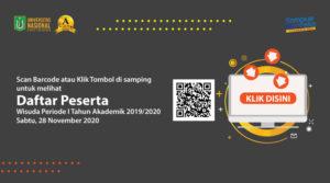 DAFTAR PESERTA WISUDA 28 NOVEMBER 2020