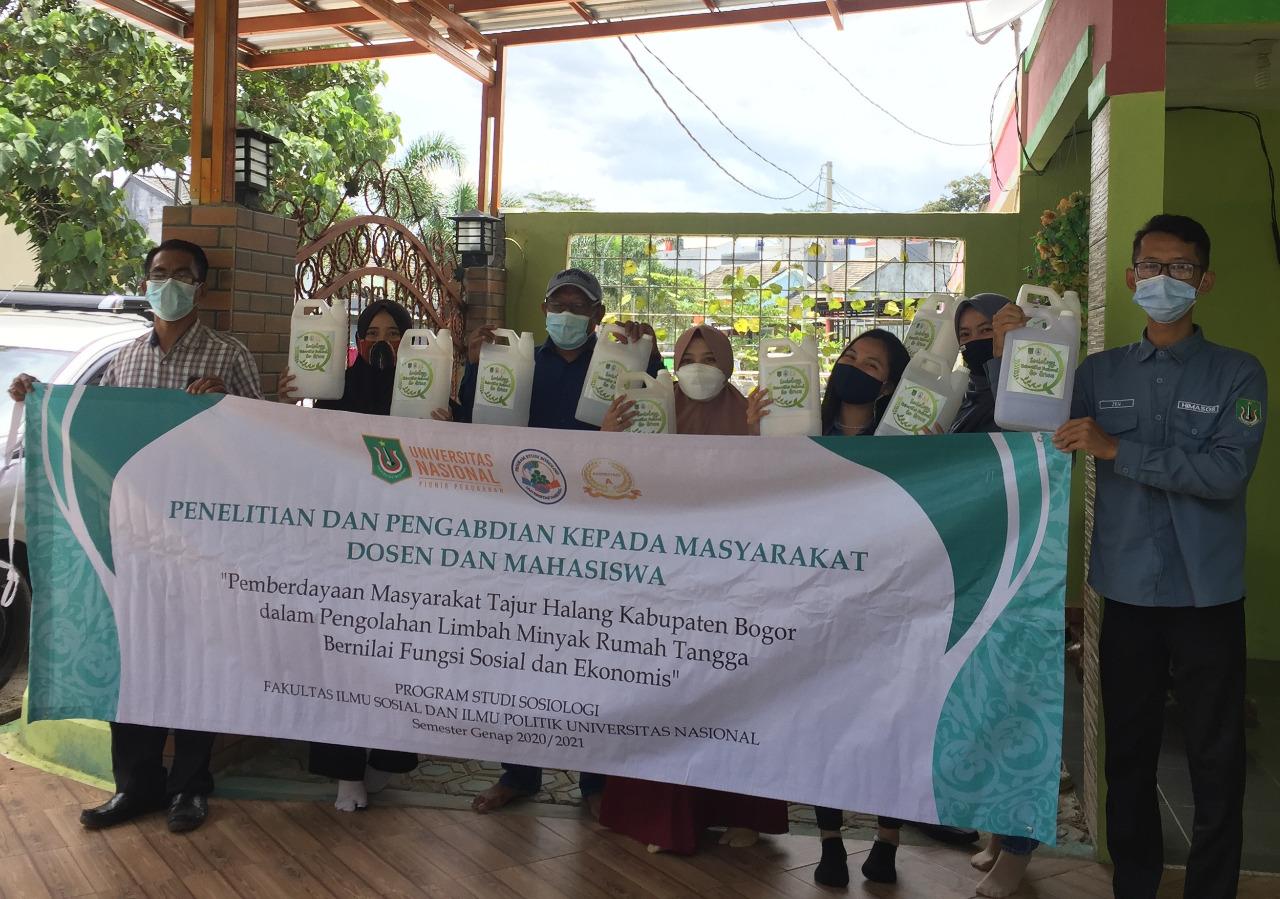 Prodi Sosiologi FISIP UNAS Gandeng Yayasan Inspirasi Anak Negeri untuk Penelitian dan Pengabdian Kepada Masyarakat di Tajur Halang Kabupaten Bogor