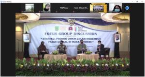 """PKSP FISIP UNAS Agendakan FGD """"Strategi Produk UMKM dalam Menembus Pasar Global di Masa Pandemi"""""""